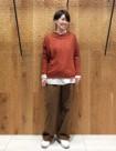 76 オレンジ/36size:日本橋高島屋店 157cm