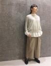 64 ベージュ/34size:東急吉祥寺店 147cm