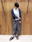 53 チャコール/36size:日本橋高島屋店 164cm
