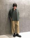 64 ベージュ/34size:東急吉祥寺店 155cm