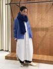 35 ブルー:名古屋高島屋店 153cm