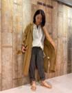 64 ベージュ/38size:大丸神戸店 162cm