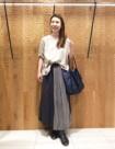 90 クロ×パープル:日本橋高島屋店 161cm