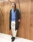 35 ホワイト×ブルー:日本橋高島屋店 161cm