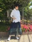 01 ホワイト:東急吉祥寺店 161cm