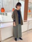 44 カーキ:京都高島屋店 160cm