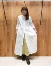 01 ホワイト:日本橋高島屋店 161cm