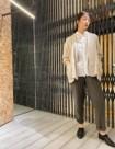 01 ホワイト:東京ミッドタウン店 168cm