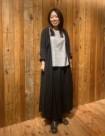35 ブルー/34size:新宿ミロード店 157cm