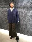 20 ネイビー:京王新宿店 160cm