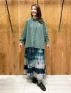 40 グリーン/34size:日本橋高島屋店 161cm
