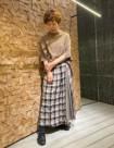 60 ブラウン/36size:東京ミッドタウン店 166cm