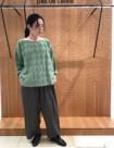 50 グレー/34size:名古屋高島屋店 153cm