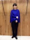 35 ブルー/36size:日本橋高島屋店 157cm