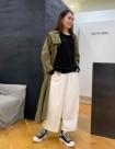 01 ホワイト/34size:立川グランデュオ店 163cm