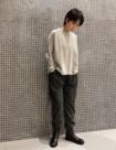 53 チャコール/34size:東急吉祥寺店 161cm