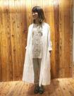 01 ホワイト:新宿ミロード店 158cm